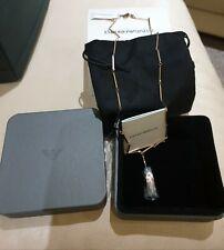 Emporio Armani Rose Gold Tone Necklace . New in box.  RRP £135