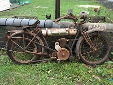 1921 Triumph Junior 225cc Barn Find restoration project, buff log book, no V5C