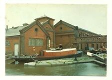 Ellesmere Port - a photographic postcard of Tunnel Tug Worcester at Boat Museum
