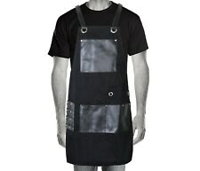 Professional Barber Apron Hairdressing Salon Denim Jeans Gown Cape Hair Cutting