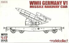 Modelcollect 1/72 Fieseler V-1 Railway Car