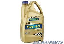 RAVENOL RCS 5W-40 Racing Motor Oil – Fully Synthetic – API SN/CF, ACEA A3/B4 5L