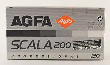 AGFA SCALA 200 120 Black and White slide print negative film medium format 6x6