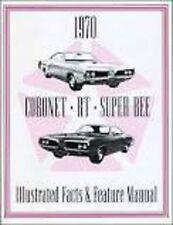 1970 Dodge Coronet & Superbee Feature Manual