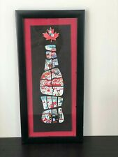 Vancouver 2010 Winter Olympics Coca Cola Complete Collectors Pins Set (framed)