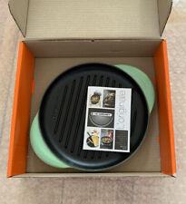 Le Creuset Cast Iron 25cm Round Grill -Rosemary (BNIB)