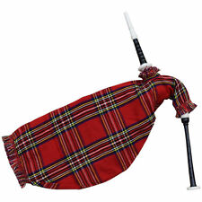Scottish Goose Bagpipe Black Color Imattion Ivory Mounts/Practice Goose Pipes