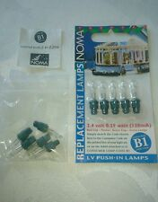 NOMA  B1  CLEAR 6 SPARE BULBS IN A PACK ** BEST VALUE**   *BE QUICK GOING FAST*