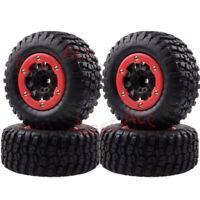 4PCS 1182-14 Wheel Rims & Tyres Tires Traxxas Slash 4x4 Pro-Line Racing For 1/10