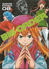 MANGA - Big Order N° 8 - Zero 199 - Star Comics - ITALIANO NUOVO
