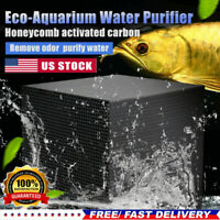Aquarium Filter Water Cube Fish Tank Eco-Aquarium Purifier Filtration Cube*