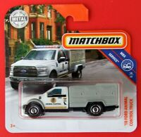 MATCHBOX 2019  ´10 FORD ANIMAL CONTROL TRUCK    81/100   NEU&OVP