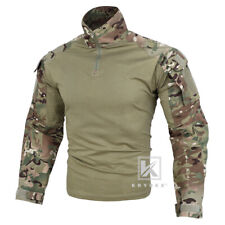 KRYDEX G3 Combat Shirt Army Uniform with Elbow Pads Army Clothing Camo Multicam