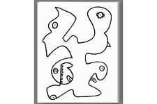 Abstract Art Painting Drawing on Canvas Pablo Picasso Classic Modern Pop Art