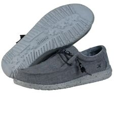 Hey Dude Wally L Stretch Steel Men's Shoes Comfortable Ligthweight SlipOn Casual