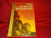 The Guns of Navarone: Alistair MacLean(1961 Movie Tie-In Pb Ed WW2 Novel #M4089)