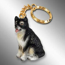 Alaskan Malamute Dog Tiny One Resin Keychain Key Chain Ring