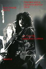 Kiss 1976 Paul Stanley & Ace Frehley 8 X 12 Photo 2 Lakeland,FL Shock Me