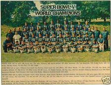 1970 Baltimore Colts Super Bowl V Team 8x10 Photo