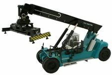 Oxford 76KRS001 - Konecranes Reach Stacker Blue   (1136)  1/76(OO) Diecast Model