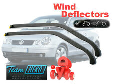 Volkswagen Polo 2001 - Hatchback 3.doors Wind Deflectors HEKO   31139