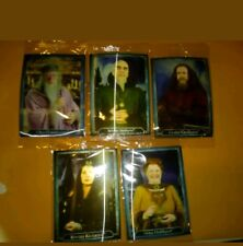 Harry Potter Hologram Chocolate Frogs 5 Card Set Still Sealed