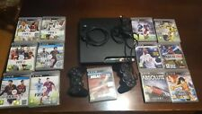 Sony Playstation 3 PS3 Console con 2 joypad e 13 giochi