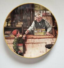 Norman Rockwell Back to School, Coming of Age, Knowles Collector Plate