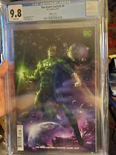 Green Lantern #6 (6/19) CGC 9.8 ** LUCIO PARRILLO COVER ** WHITE PAGES  **
