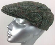 Failsworth X2 Mens Vintage Flat Caps Check Herringbone Shoots Cheeky Blinders