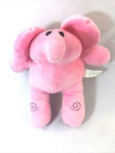 Bandai Pocoyo Boy Elly Pink Elephant Plush