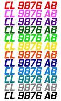 CUSTOM BOAT or PWC HULL IDENTIFICATION NUMBER REGISTRATION STICKER DECAL JET SKI