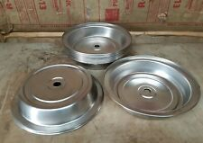 10 Used 11-1/4 Plate Cover Stainless Steel Commercial Catering Plate Covers