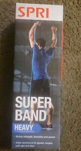 SPRI Superband Heavy up to 50 Lbs Resistance NEW in Factory Sealed Box