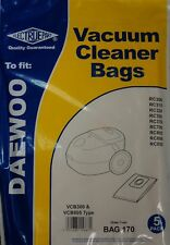 Daewoo RC300 RC310 RC320 RC350 RC700 TYPE VCB300  ELECTRUEPART BAG 170