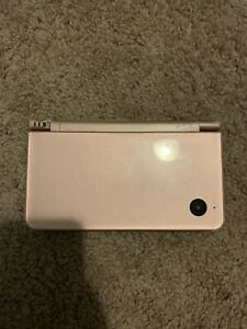 Nintendo DSi XL Pink Handheld System For Parts Or Repair *Turns On* AS IS