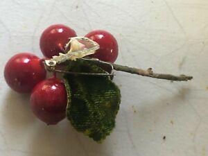 Cherry Brooch #V043