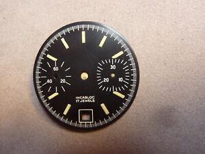 cadran chronographe Valjoux 7734  /7
