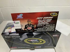 JEFF GORDON #24 2012 Dupont 20th Annivesary Homestead RACED Win Action Impala