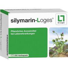 silymarin-loges capsules dures 200 pièces pzn11515902