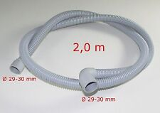 Bosch Siemens Ablaufschlauch 00678974 und Schlauchhalter F20 für Waschmaschine