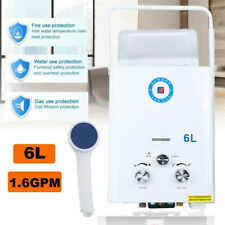 6L/min Propane Gas Portable RV Tankless Hot Water Heater LPG  1.6 GPM Instant