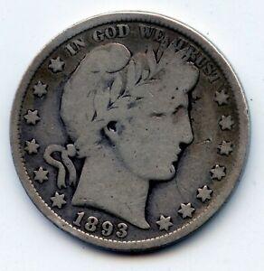 1893-p Barber half (SEE PROMO)