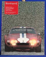 Bonhams Auction Catalog Automobiles/ Ferrari/ Wristwatches Lepeltier Dec 2003