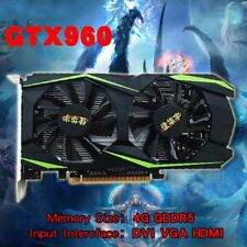 Graphics Card Grafikkarte For NVIDIA For GeForce GTX960 4GB DDR5 128Bit ViYE