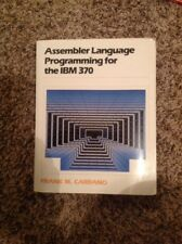 Assembler Language Programming for the IBM 370 : Assist Edition