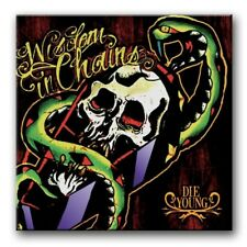 Wisdom In Chains Die Young Vinyl Black/Red /100