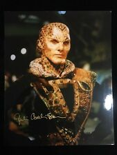 Julie Caitlin Brown as Na'Toth in Babylon 5 Signed 8x10 Photo Autographed