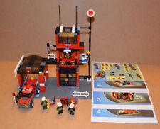 Lego City 7240 Fire Station/ Lego City Feuerwehr Station inkl. Mini Figuren