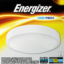 Energizer Motion Activated Microwave Sensor LED Ceiling Light Fitting 17w = 100w